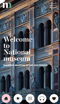 Nationalmuseum Visitor Guide poster