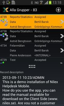 Nilex Mobile Helpdesk poster