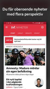 SVT Nyheter plakat