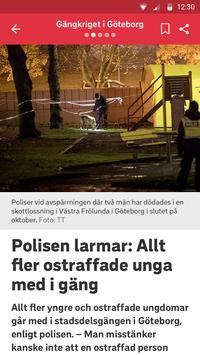 SVT Nyheter screenshot 1