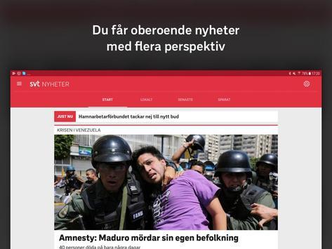 SVT Nyheter screenshot 5