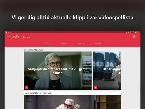 SVT Nyheter screenshot 9