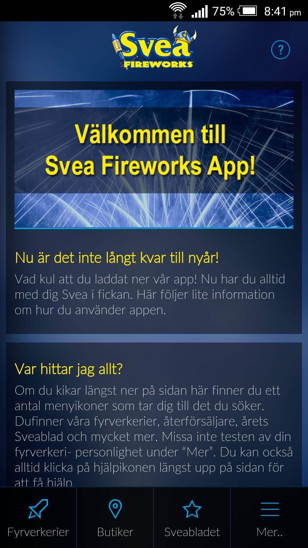 fabrikspris fantastiskt urval se upp för Svea Fireworks for Android - APK Download
