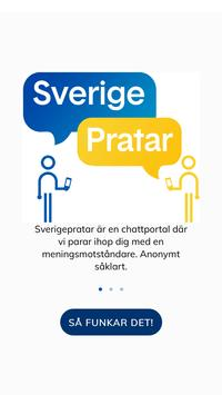 Sverige Pratar poster