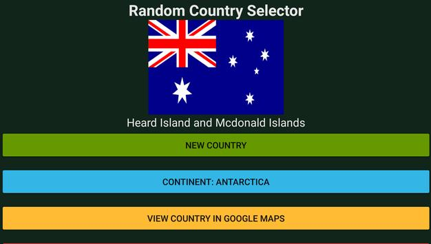Random Country Selector for Android - APK Download