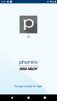 Phoniro PI poster