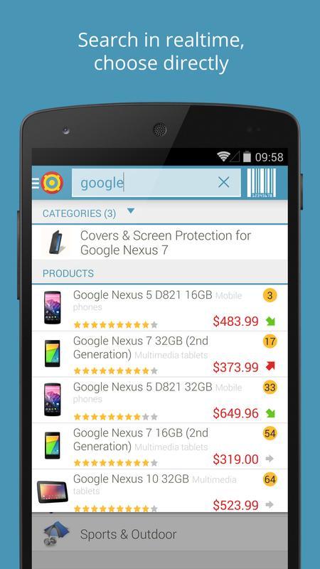 Utrolig PriceSpy for Android - APK Download FG-36