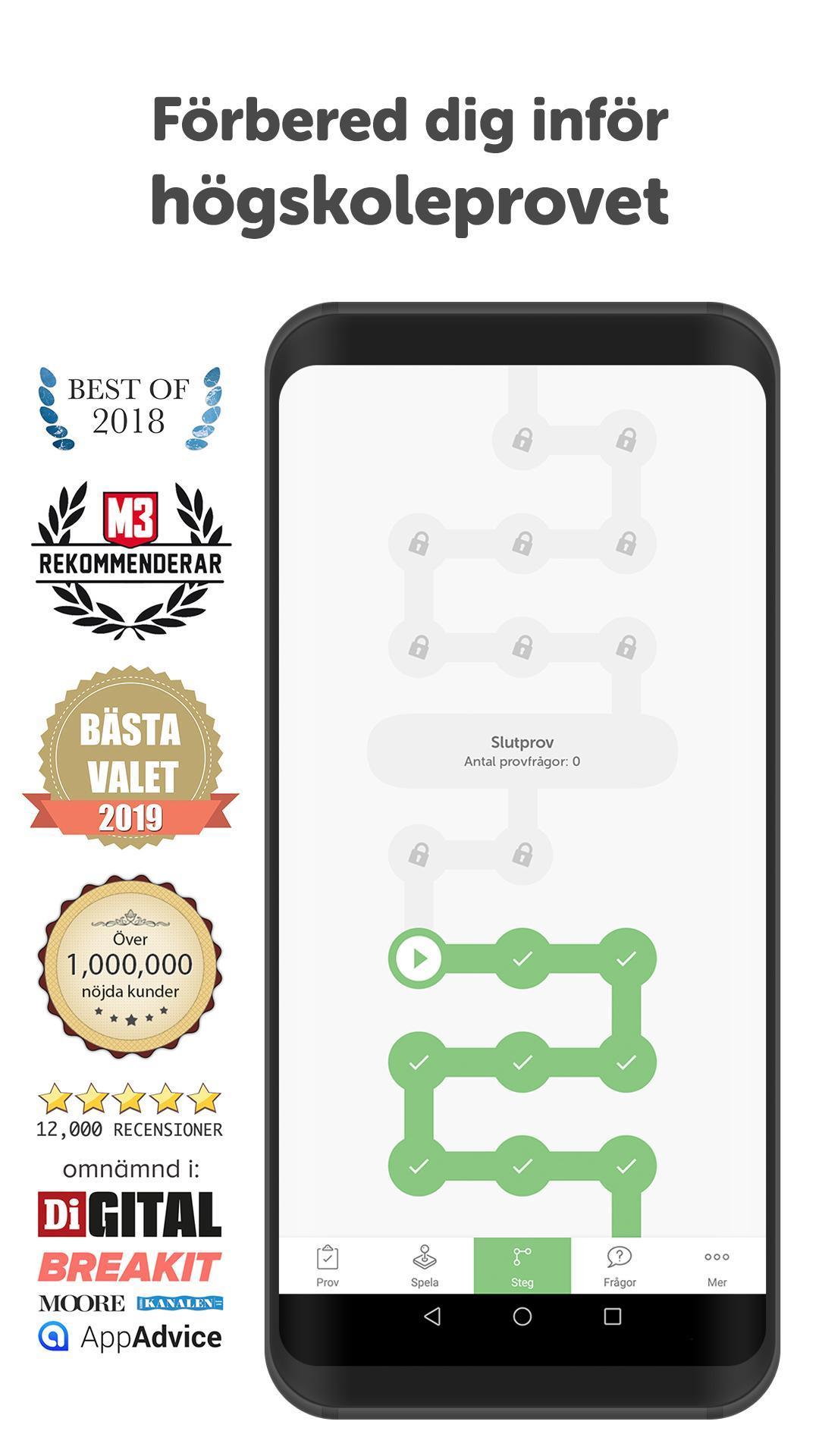 Hogskoleprovet For Android Apk Download