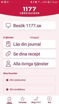 1177 Vårdguiden captura de pantalla 3