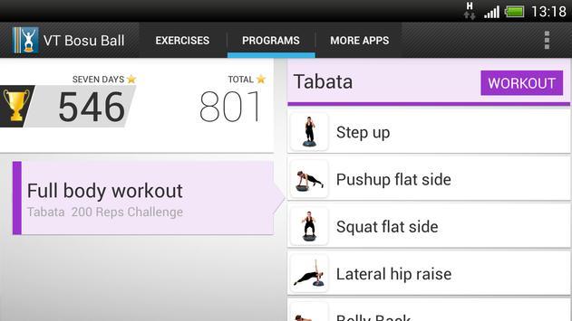Virtual Trainer Bosu Ball Screenshot 6