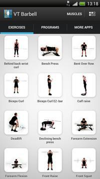 Virtual Trainer Barbell スクリーンショット 3