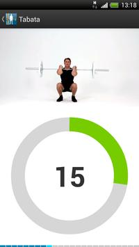 Virtual Trainer Barbell ポスター