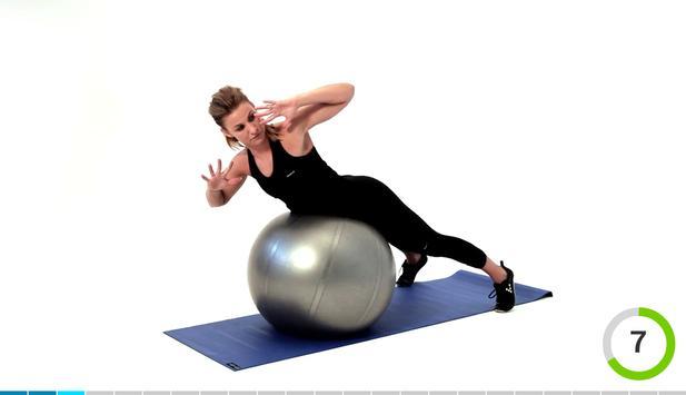 Virtual Trainer Gym Ball スクリーンショット 14