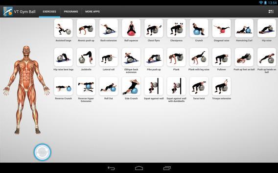 Virtual Trainer Gym Ball スクリーンショット 7