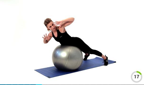 Virtual Trainer Gym Ball スクリーンショット 9