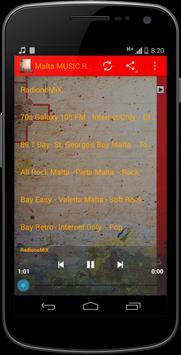 Malta MUSIC Radio poster
