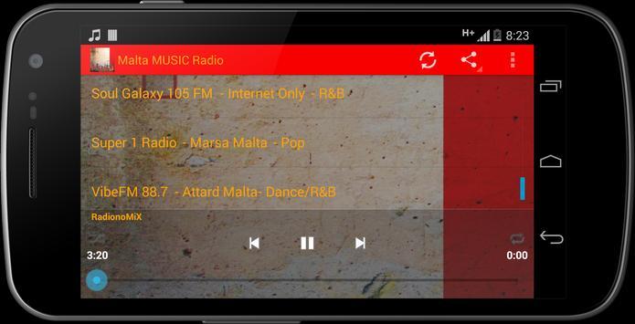 Malta MUSIC Radio screenshot 12