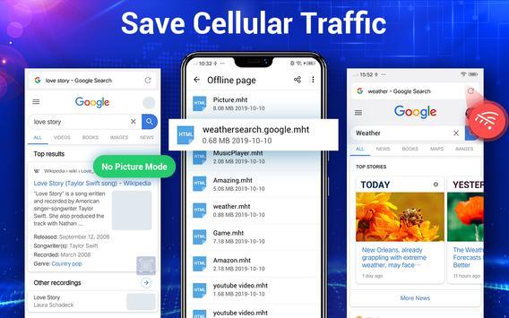 Browser Lite - Cepat & Aman screenshot 17