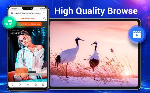 Browser Lite - Cepat & Aman screenshot 14