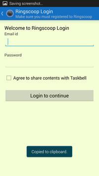 Taskbell poster
