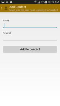 Taskbell screenshot 5