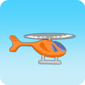 2D Helicopter icon