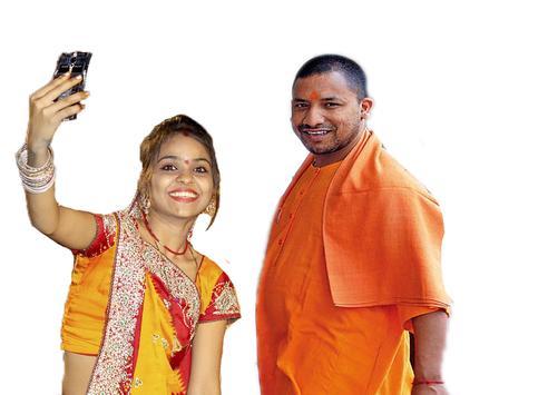 Selfie With Yogi Adityanath poster