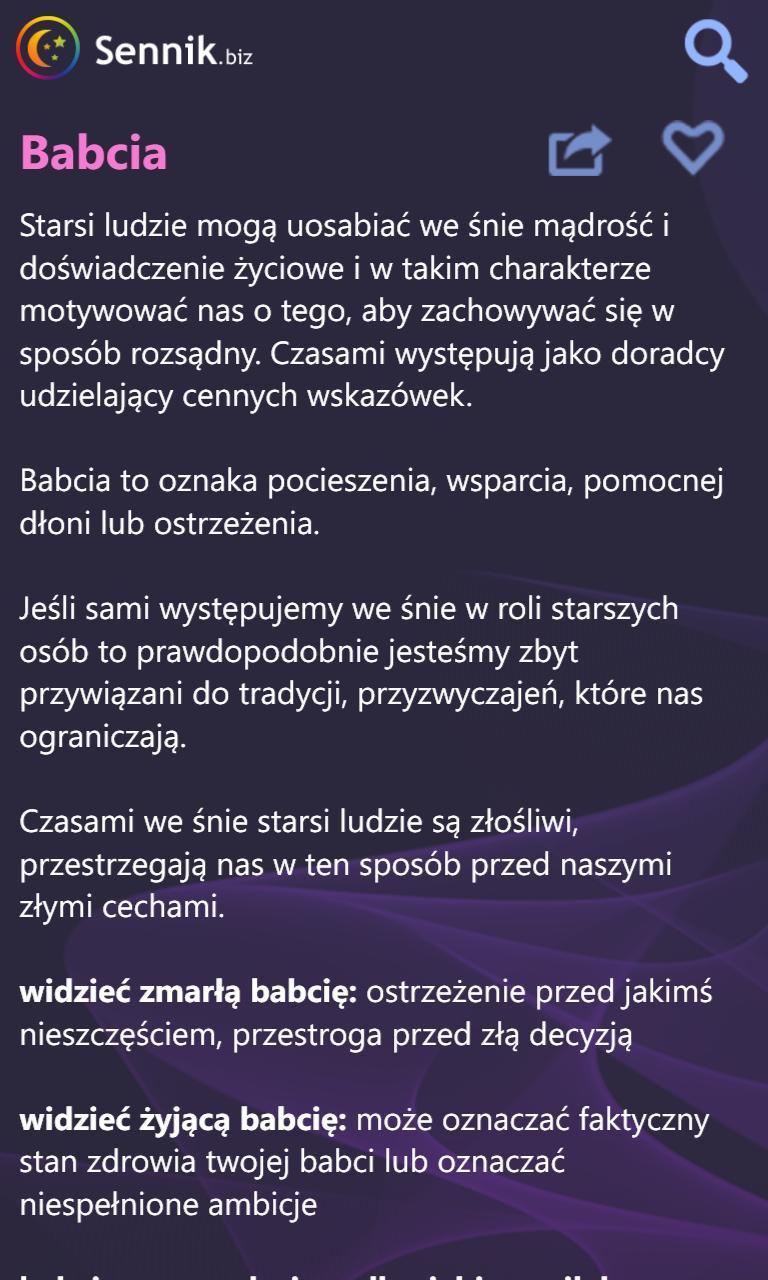 www sennik biz