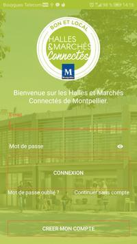 Halles et Marchés Montpellier poster