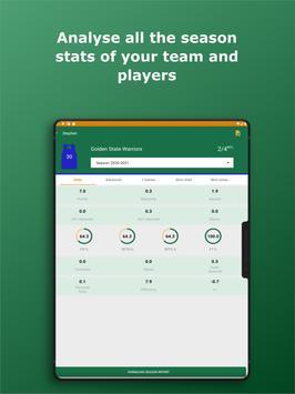 Basketball Stats Assistant 스크린샷 18