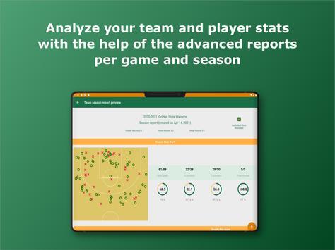 Basketball Stats Assistant 스크린샷 15