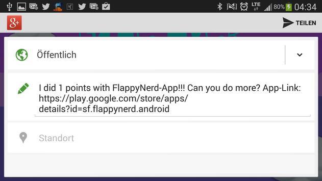 Flappy Nerd screenshot 17