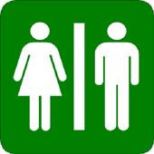 Where is Public Toilet icono