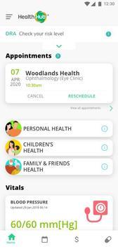 HealthHub ポスター