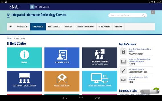 SMU Mobile screenshot 11