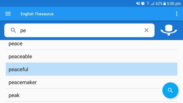 English Thesaurus screenshot 10