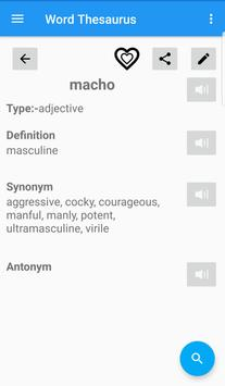 English Thesaurus screenshot 3
