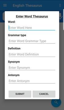 English Thesaurus screenshot 6