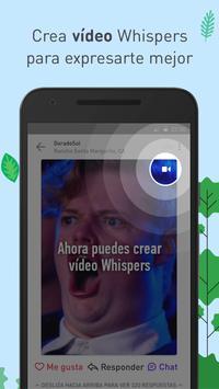 Whisper captura de pantalla 3