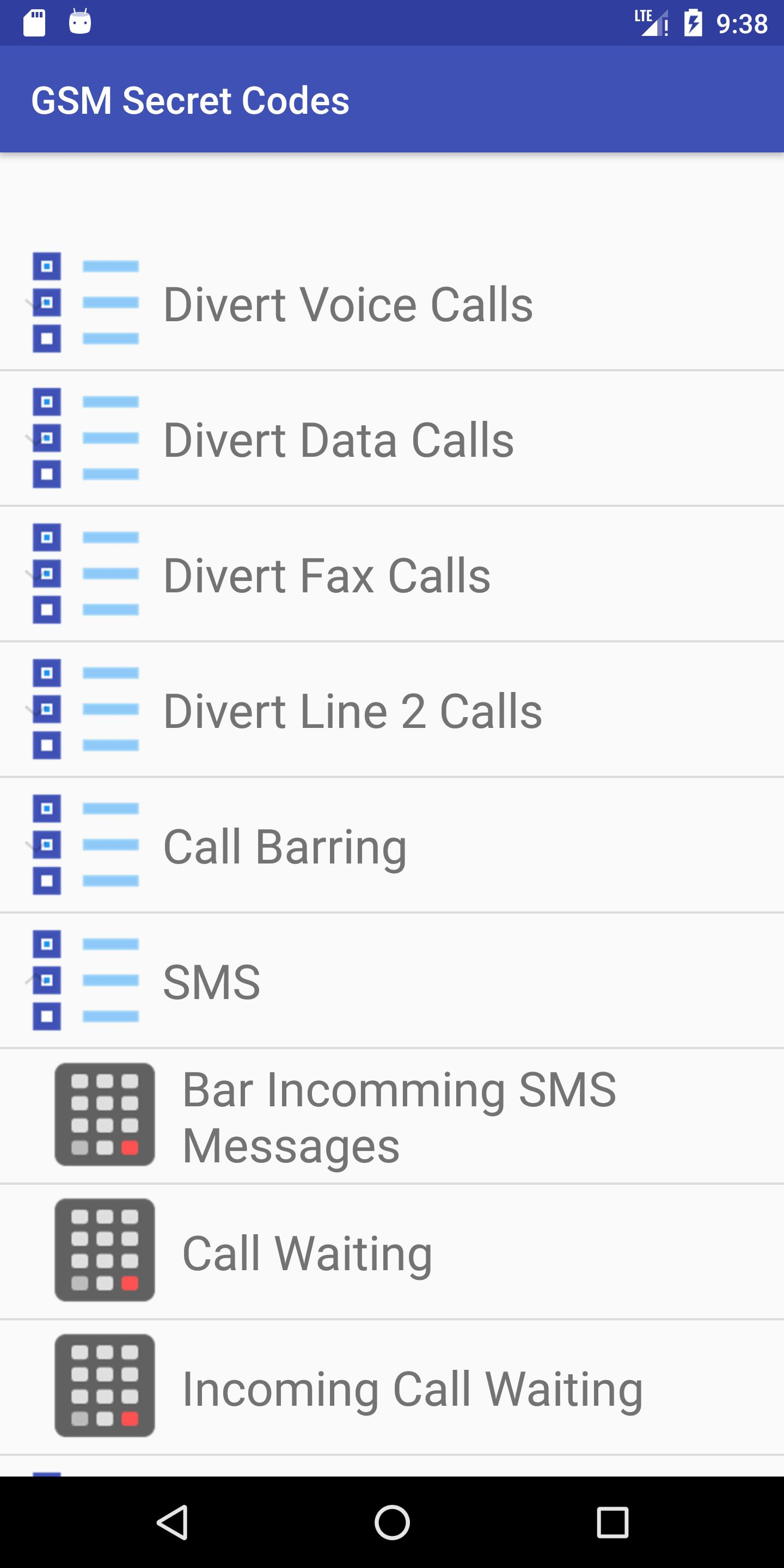 All GSM Secret Codes for Android - APK Download