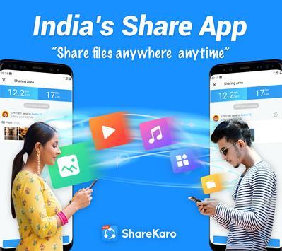 Share Karo Lite - Share & File Transfer, Shareit poster