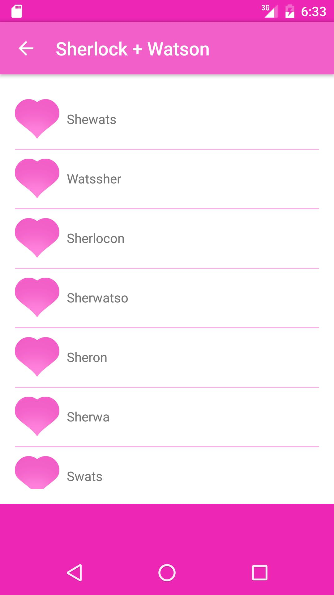 Fandom Ship Names Generator Fluff And Fun For Android Apk Download