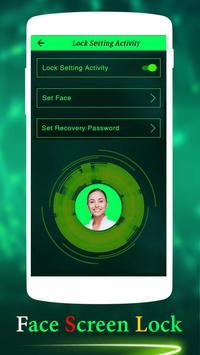 Face Screen Lock PRANK poster