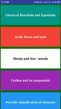 Chemistry 10 poster