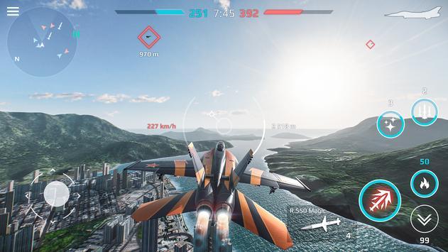 Sky Combat captura de pantalla 4