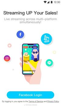 HandsUP - Live Selling App poster