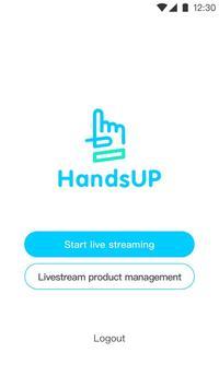 HandsUP - Live Selling App screenshot 1
