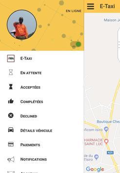 E-Taxi poster