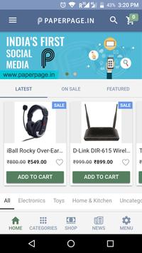 PaperPage - Shop screenshot 1