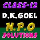 Account Class-12 Solutions (Dk Goel) NPO Solutions icon